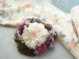 和装髪飾り HW#6の画像