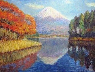 二つの富士山の画像