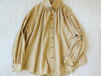 トルファンコットン120/2ツイル エアータンブラー・フリーリーカラーシャツの画像