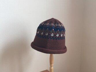 ニット帽 ユキモグラの画像