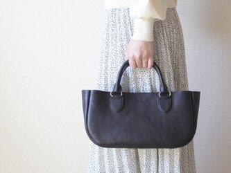 レザートートバッグ【helen】総手縫いの画像