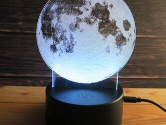 月のルームライト LED ムーンライト フロアライトの画像