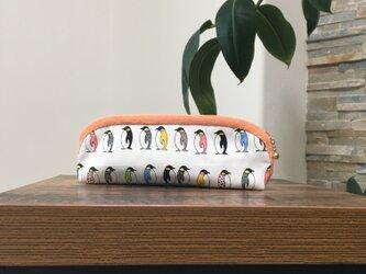 ペンギンさんのペンケースの画像