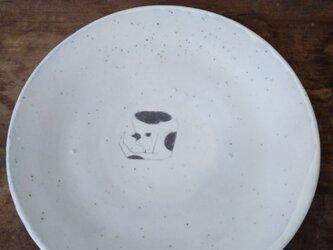 粉引き 皿の画像