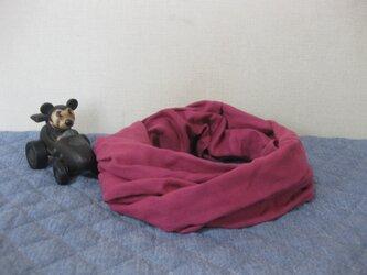 ダブルガーゼスヌード《ローズピンク・二重》の画像