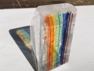 虹のガラス(ありがとう)の画像