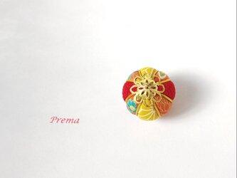 ちいさい真理(まり)アクセサリー加工無料  p菊紅麻黄の画像