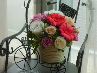 pre-flower bicycle♡p-1の画像