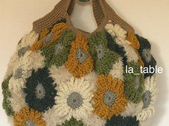 花たくさんのバッグ「COOL FLOWERS 11」の画像