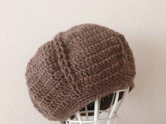 Sold out  !  再販‼️ ウールのまぁるいニット帽の画像