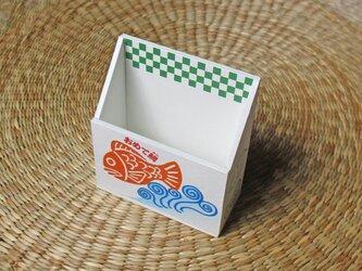おめで鯛焼き 携帯ホルダー(グリーン)の画像