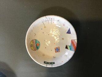 イロアソビ丸皿の画像