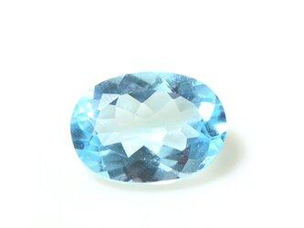 ブルートパーズ スカイ  大粒 ルース 天然石  S-E071CI2の画像