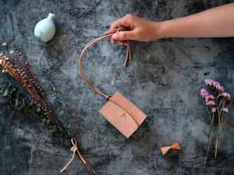 アラスカ_キャメル◆外装◆あかちゃん財布◆三つ折りの画像