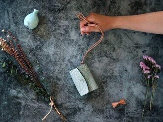 アラスカ_グリーン◆外装◆あかちゃん財布◆三つ折りの画像