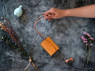 アラスカ_イエロー◆外装◆あかちゃん財布◆三つ折りの画像