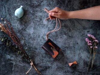 エル ヴァケーロ_ブラウン◆外装◆あかちゃん財布◆三つ折りの画像