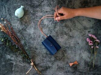 オールド イングランド_ロイヤルブルー◆外装◆あかちゃん財布◆三つ折りの画像
