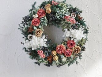 enjoy winter wreathの画像