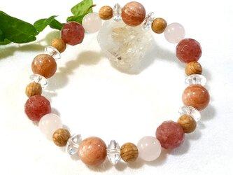 心身を整えて、元気に美しく前向きな毎日を#09~天然石&屋久杉ブレスレットの画像