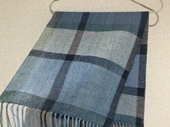 手織りストール A44の画像