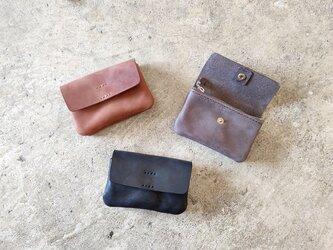【ポーチウォレット S】本革  コインケース ミニ財布の画像
