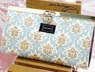 【受注製作】YUWAサントマリー 直線口金の長財布の画像