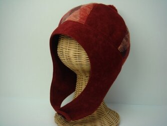 ポンポン帽子(大)の画像