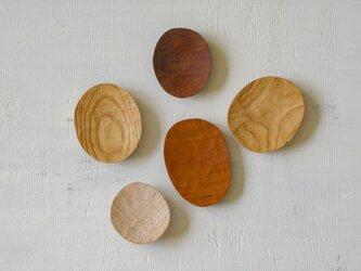 5種類の豆皿(5枚セット)の画像