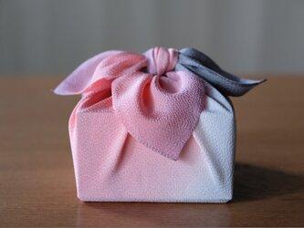 正絹丹後ちりめん 風呂敷 鼡桜(ねずざくら)の画像