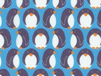 Westfalenstoffeコットン生地カットクロスYoungline ペンギンの画像