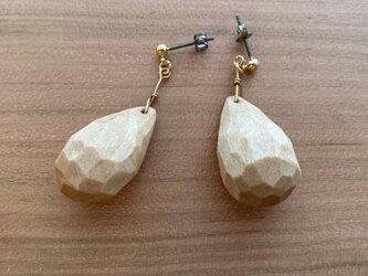 drops pirced earrings-1の画像