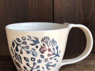 もゆ様 ご注文品 — 掻き落としマグカップ1点の画像