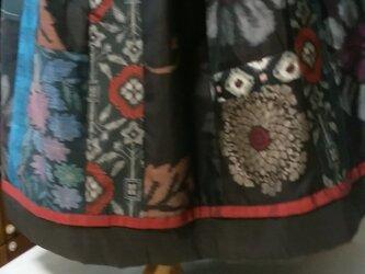 着物リメイク  * 表情豊かなエレガントスカートの画像