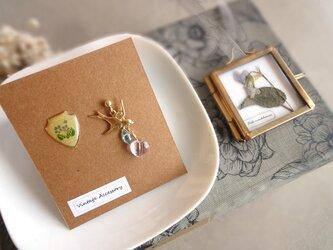 【限定数】スミレの押し花ガーランドのコフレセット■ 小さなビオラの画像