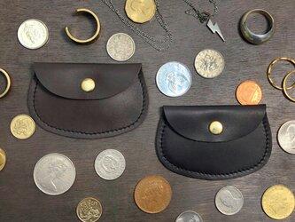 ミニコインケース ジュエリー袋 ポケットウォレット 小銭入れ ミニ財布 本革の画像