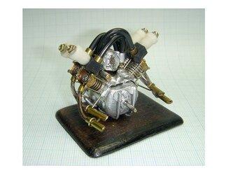 なんちゃって ミニチュア・エンジン 模型の画像