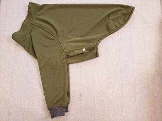 犬服 I様オーダーメイド:ワイマラナー用長袖ラグランTシャツの画像