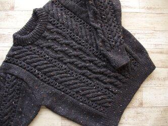 アランセーター・アラン模様のセーター・セーター・アラン模様の画像