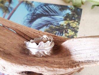【14号】silver925 palm leaf ringの画像