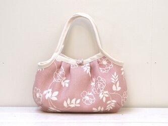 【オーダー品】グラニーバッグ「グレイッシュ・ピンク」の画像