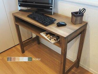 色が選べる 90×40cm ワークデスク(作業台/勉強机/テレワーク/在宅勤務)の画像