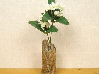 【温泉流木】繊細な木目が美しい小サイズの流木一輪挿し フラワーベース 流木インテリアの画像