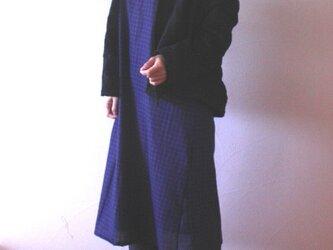 コットンウール 羽織カーデの画像