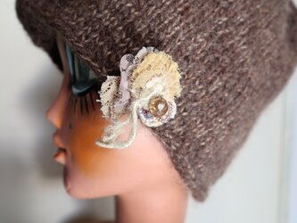 ニット帽子c-8の画像