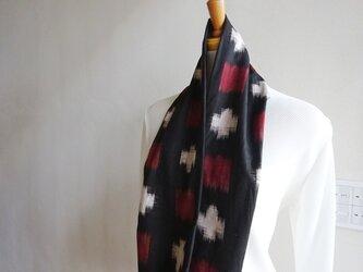 アンティークの木綿を楽しむスヌードの画像