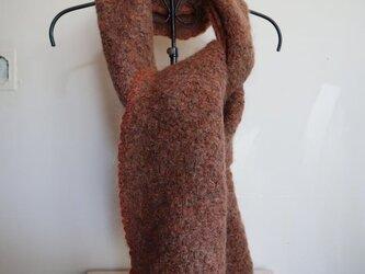 手編みストール(s-4)の画像