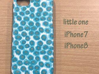 【リバティ生地】ザンジー・サンビームミント iPhone7 & iPhone8の画像