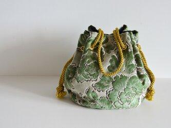 ヴェルサイユマリンバッグ グリーン  大サイズの画像