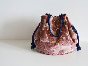 ヴェルサイユマリンバッグ スモーキーピンク  大サイズの画像